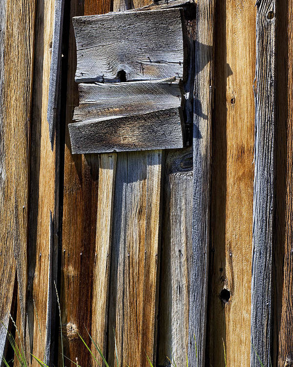 Wood Wall Poster featuring the photograph Wood On Wood by Kelley King
