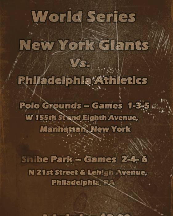 World Series Poster featuring the digital art World Series 1913 by David Dehner