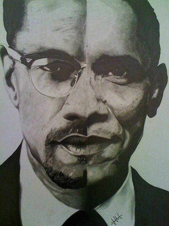 Barack Obama Poster featuring the drawing Xobama by Jane Nwagbo