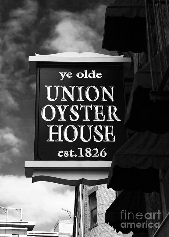 Pictures Poster featuring the photograph ye olde Union Oyster House by John Rizzuto