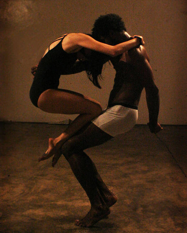 Dancing Poster featuring the photograph Ying Yang Balance by Patricia Gomez