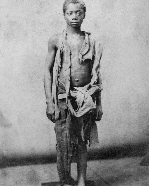 History Poster featuring the photograph Young Slave During The Civil War by Everett
