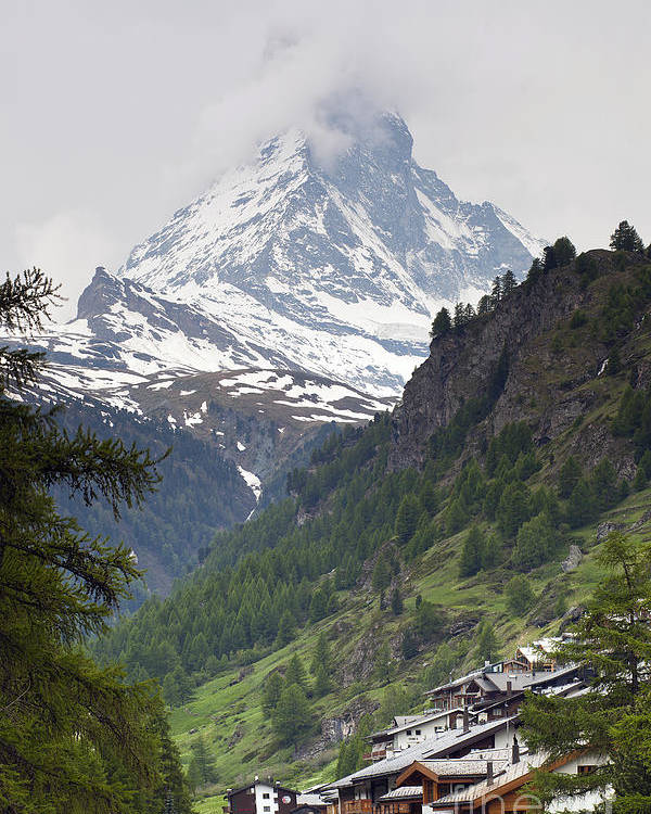 Alpine Poster featuring the photograph Zermatt by Andre Goncalves
