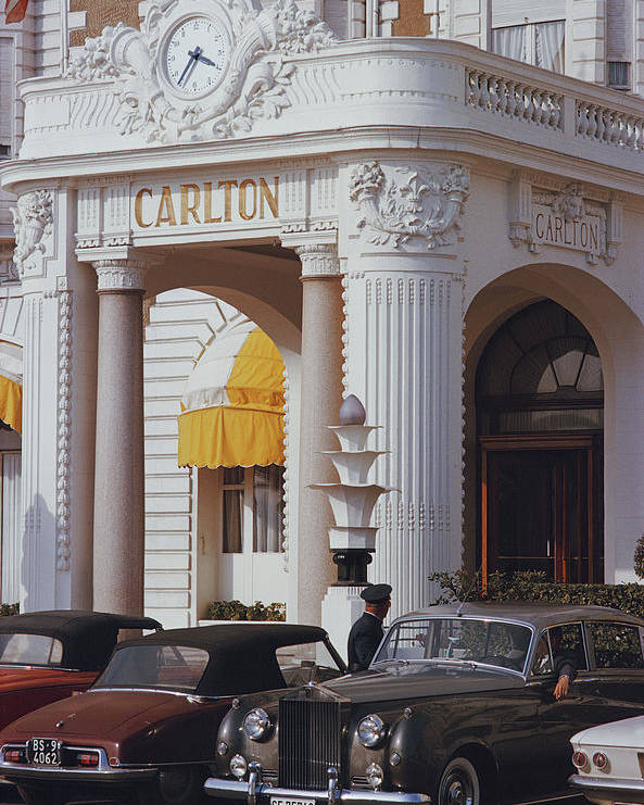 Hotel Poster featuring the photograph Carlton Hotel by Slim Aarons