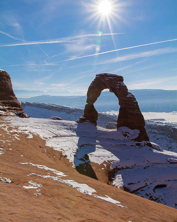 Delicate Arch Poster featuring the photograph Delicate Arch by Robert VanDerWal