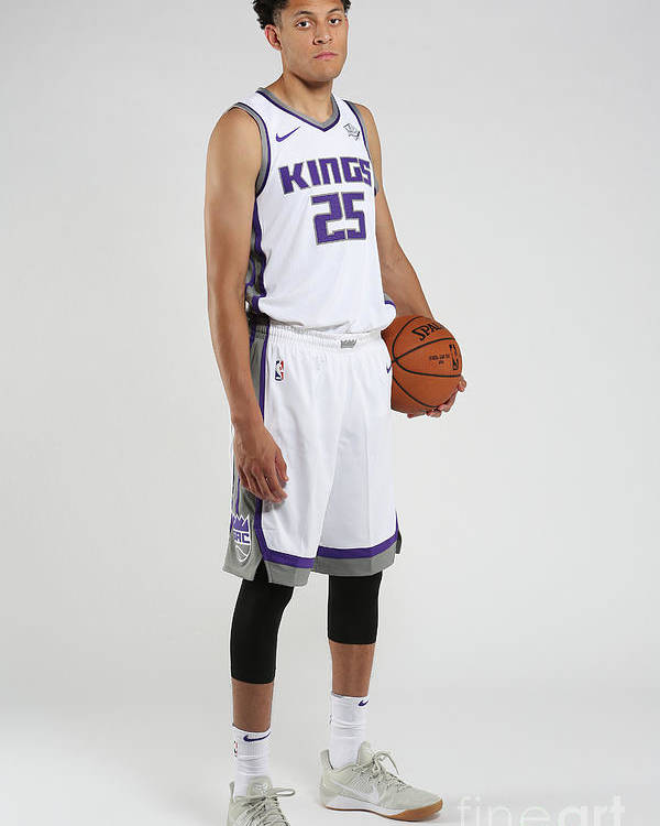 Nba Pro Basketball Poster featuring the photograph Justin Jackson Rookie Shoot by Steve Yeater