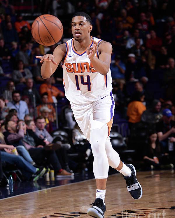 Nba Pro Basketball Poster featuring the photograph Minnesota Timberwolves V Phoenix Suns by Michael Gonzales