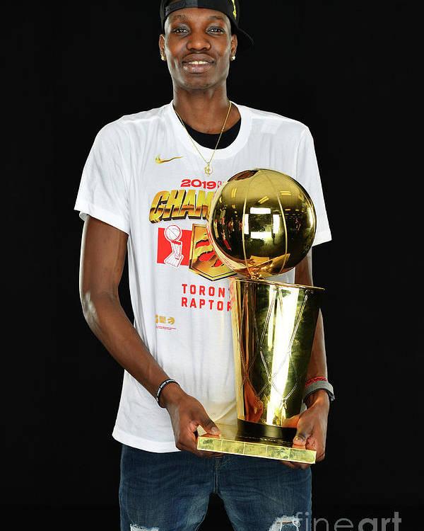Playoffs Poster featuring the photograph Nba Finals Portraits by Jesse D. Garrabrant