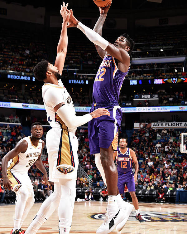Smoothie King Center Poster featuring the photograph Phoenix Suns V New Orleans Pelicans by Bill Baptist