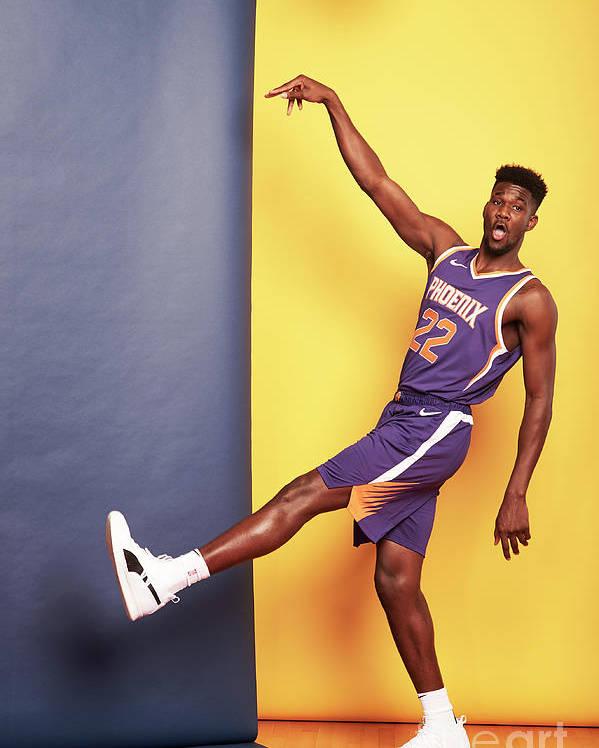 Nba Pro Basketball Poster featuring the photograph 2018 Nba Rookie Photo Shoot by Jennifer Pottheiser