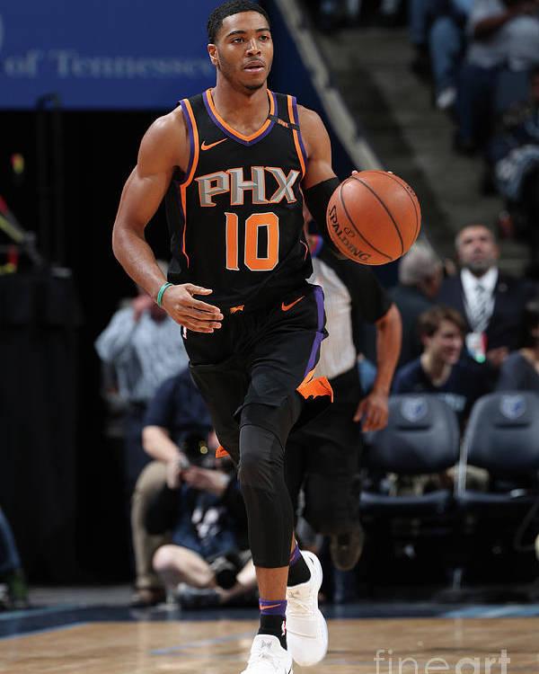 Nba Pro Basketball Poster featuring the photograph Phoenix Suns V Memphis Grizzlies by Joe Murphy