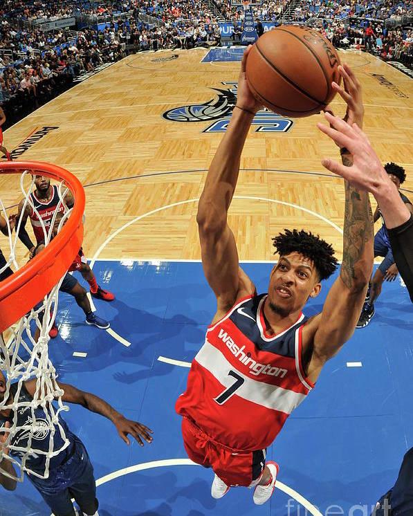 Nba Pro Basketball Poster featuring the photograph Washington Wizards V Orlando Magic by Fernando Medina