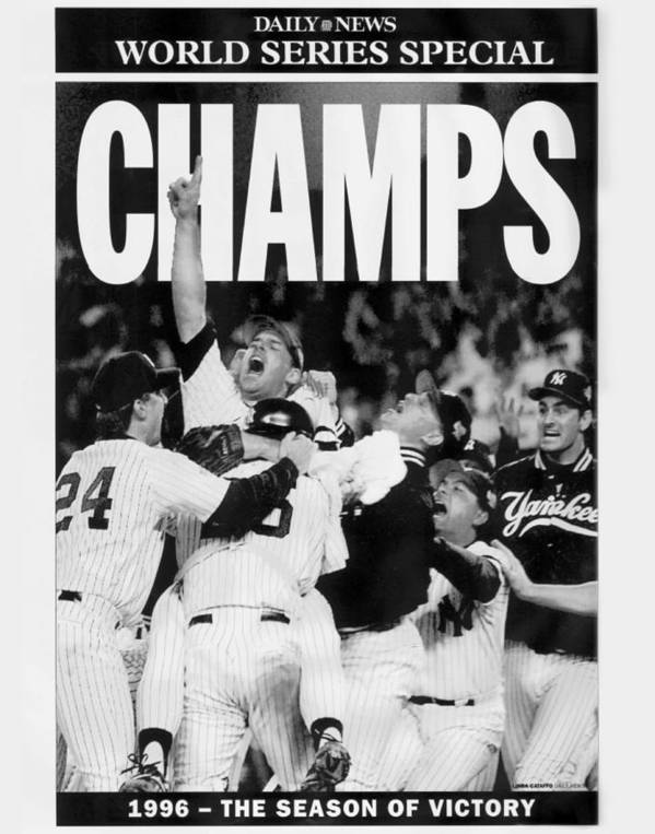 Celebration Poster featuring the photograph Daily News Front Page by New York Daily News Archive