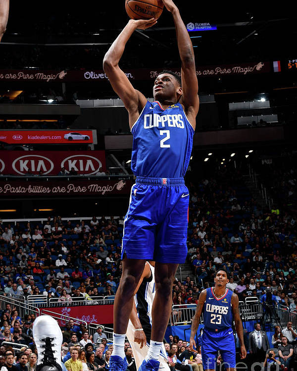 Nba Pro Basketball Poster featuring the photograph La Clippers V Orlando Magic by Fernando Medina