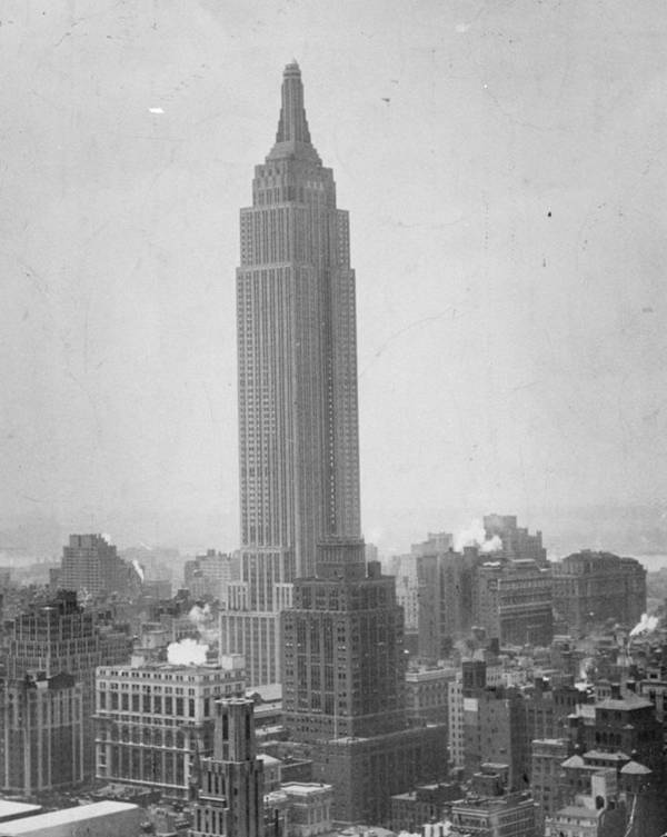 The Empire State Building Poster By New York Daily News Archive