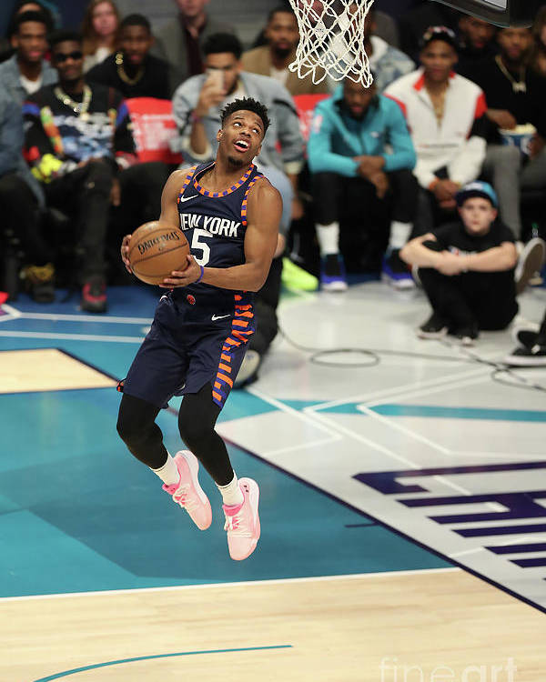 Nba Pro Basketball Poster featuring the photograph 2019 At&t Slam Dunk Contest by Kent Smith