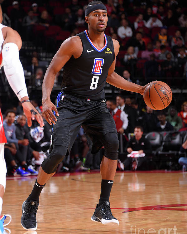 Moe Harkless Poster featuring the photograph La Clippers V Houston Rockets by Bill Baptist