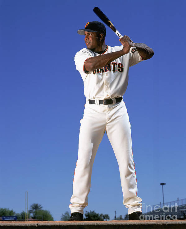 Arizona Poster featuring the photograph Barry Bonds by Andy Hayt