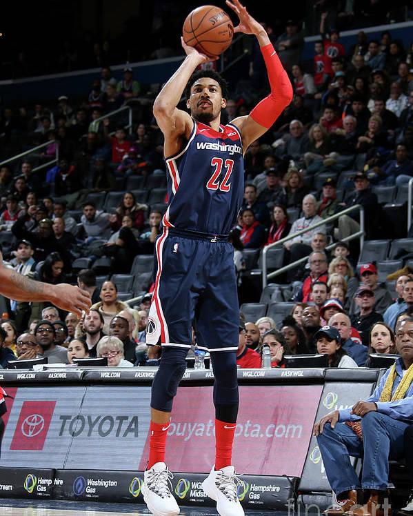 Nba Pro Basketball Poster featuring the photograph Toronto Raptors V Washington Wizards by Stephen Gosling