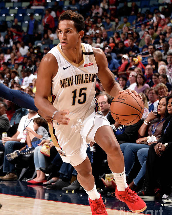 Smoothie King Center Poster featuring the photograph Utah Jazz V New Orleans Pelicans by Bill Baptist
