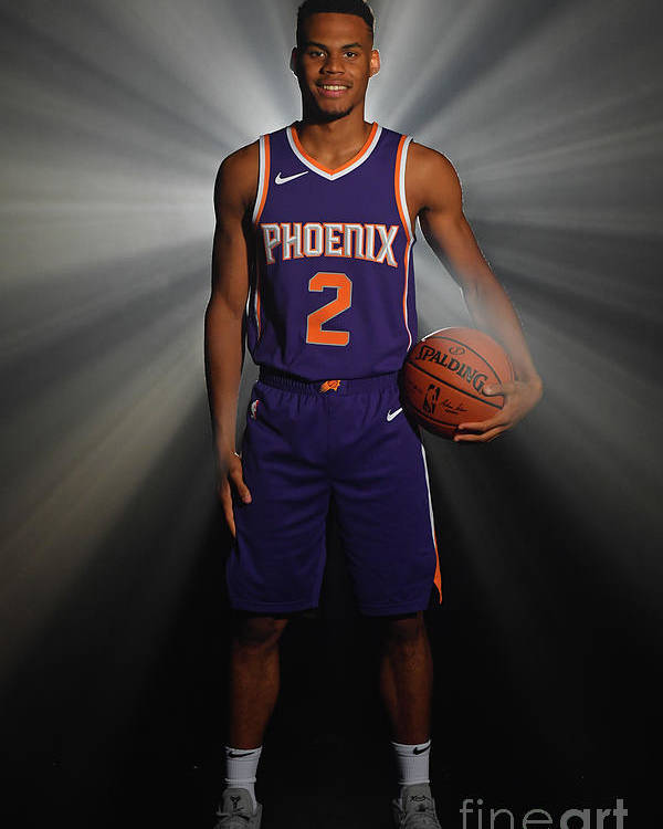 Nba Pro Basketball Poster featuring the photograph 2018 Nba Rookie Photo Shoot by Jesse D. Garrabrant