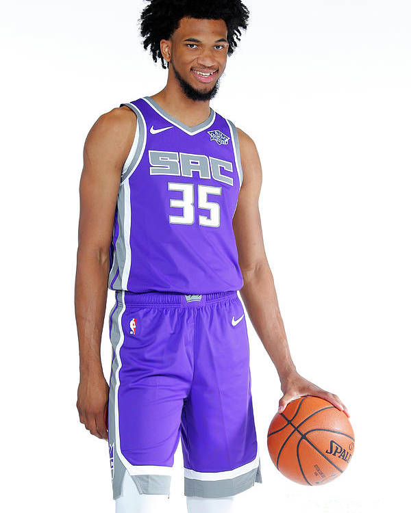 Media Day Poster featuring the photograph 2018-19 Sacramento Kings Media Day by Rocky Widner