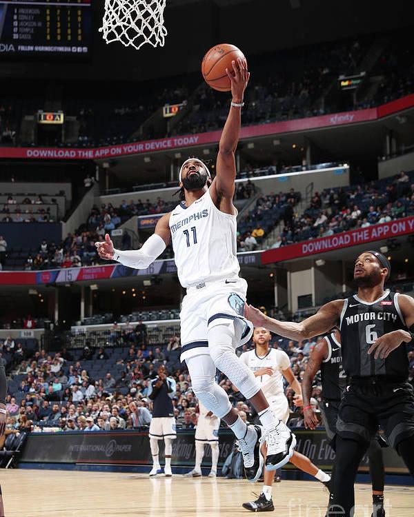 Nba Pro Basketball Poster featuring the photograph Detroit Pistons V Memphis Grizzlies by Joe Murphy