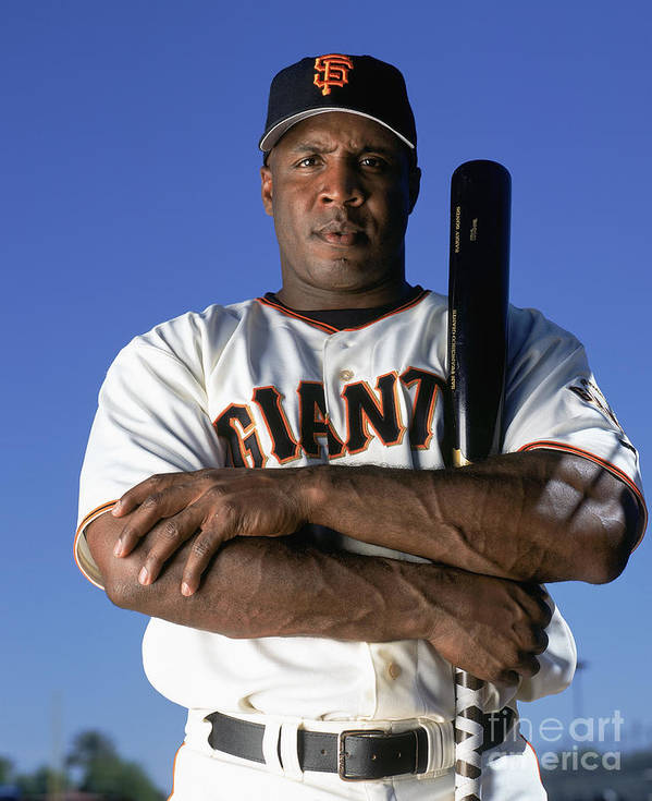 People Poster featuring the photograph Barry Bonds by Andy Hayt