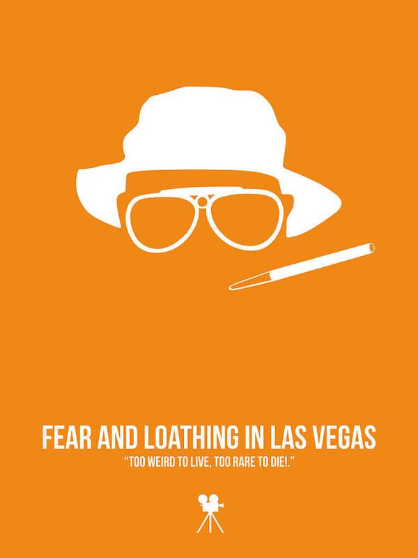 Fear And Loathing In Las Vegas Poster featuring the digital art Fear And Loathing In Las Vegas by Naxart Studio
