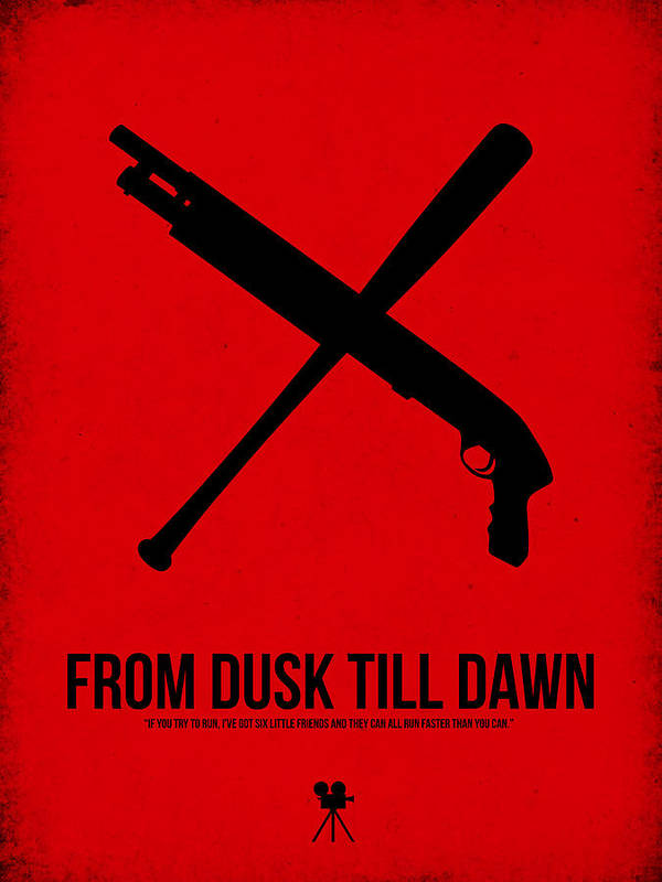 From Dusk Til Dawn Poster featuring the digital art From Dusk Til Dawn by Naxart Studio