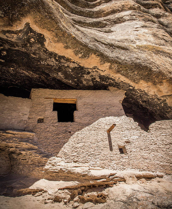New Mexico Poster featuring the photograph Gila Cliff Dwellings by Candy Brenton