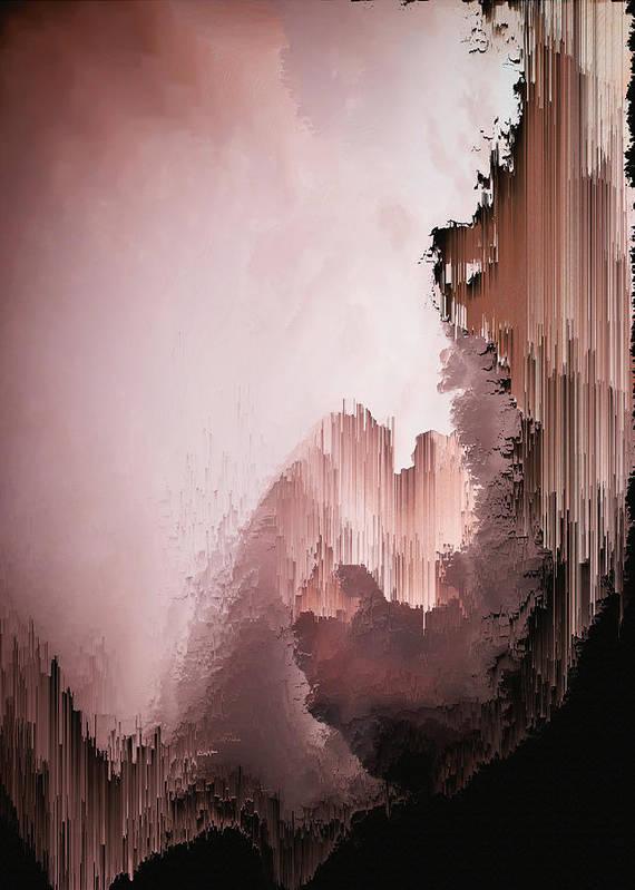 Poster featuring the digital art Healing heart by Jenny Filipetti