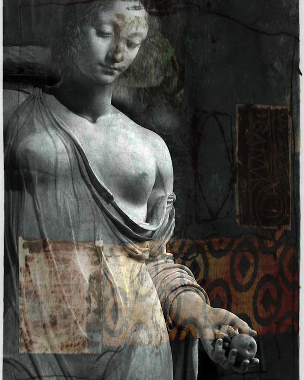 Religious Poster featuring the mixed media If Not For You - Statue by Paul Lovering