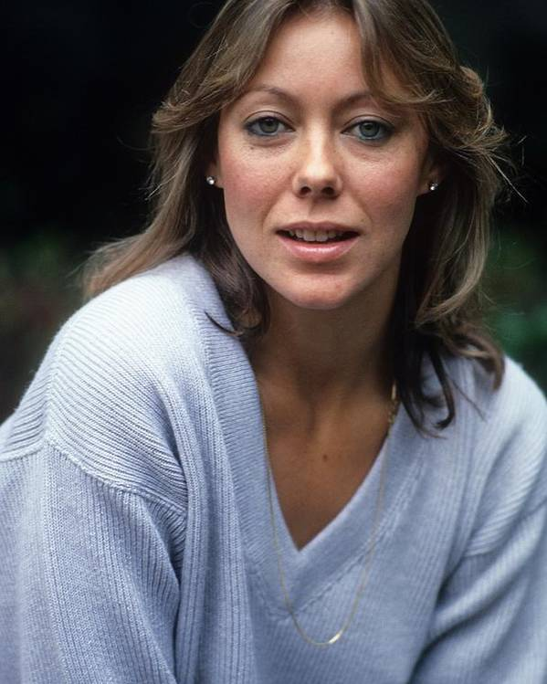 Jenny Agutter Portrait Poster by Donaldson Collection