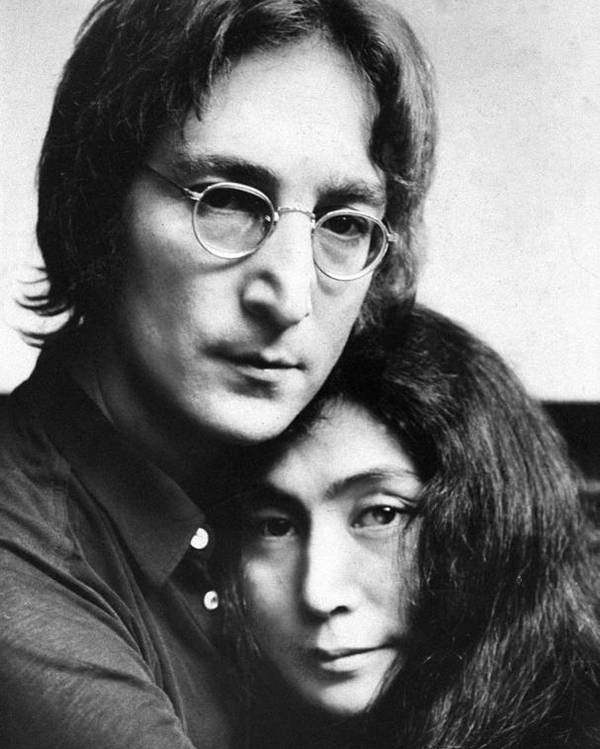 John Lennon And Yoko Ono Poster By New York Daily News Archive