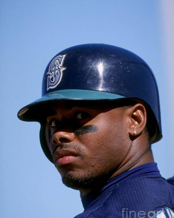 Peoria Sports Complex Poster featuring the photograph Ken Griffey Jr by Brian Bahr