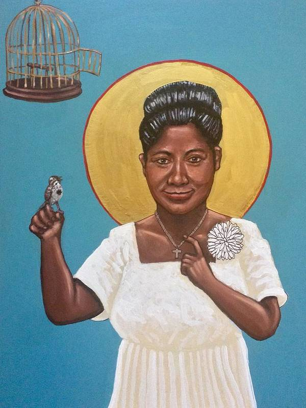 Poster featuring the photograph Mahalia Jackson by Kelly Latimore