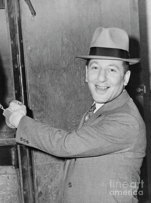 People Poster featuring the photograph Mob Boss Louis Buchalter Smiling by Bettmann