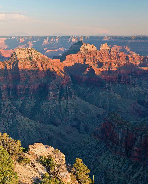 North Rim Grand Canyon National Park Poster