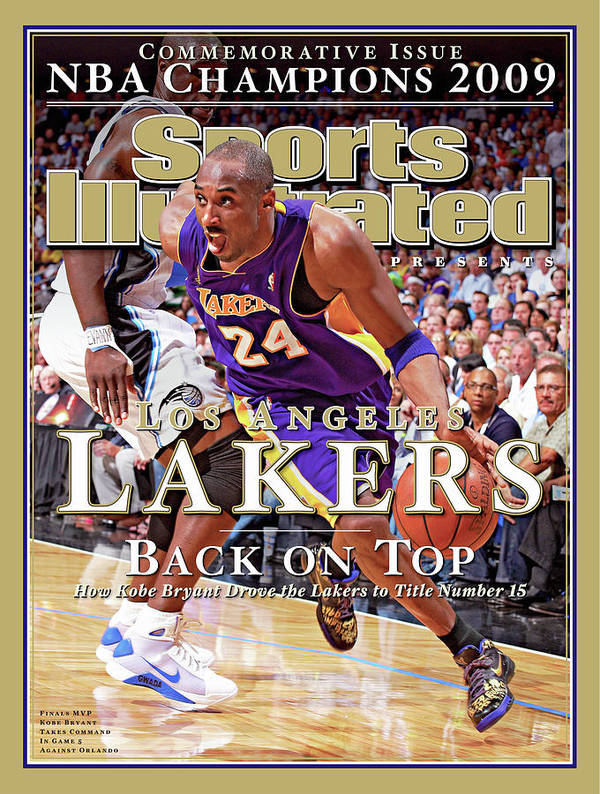 Playoffs Poster featuring the photograph Orlando Magic Vs Los Angeles Lakers, 2009 Nba Finals Sports Illustrated Cover by Sports Illustrated