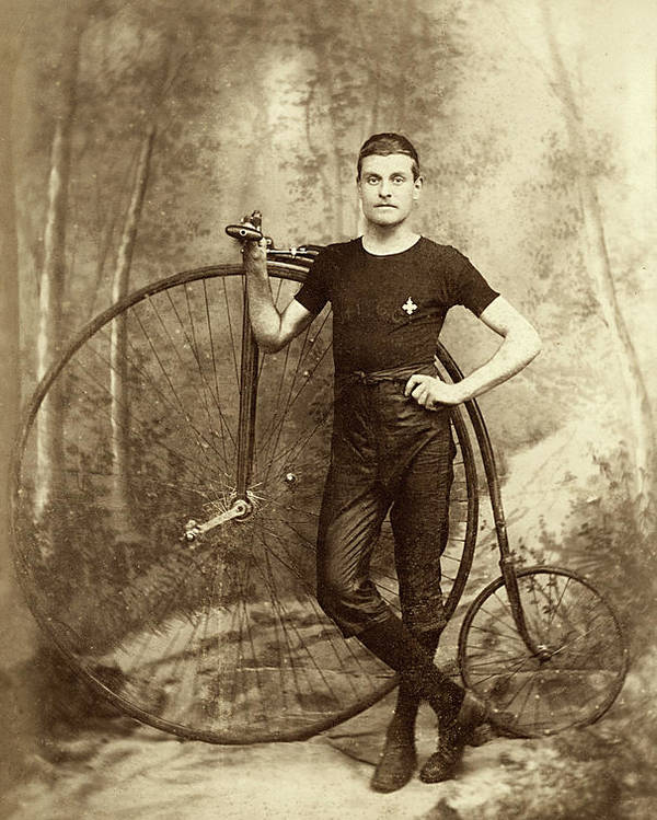 Penny Farthing Poster featuring the photograph Penny Farthing - High Wheel - Ordinary  by Jayson Tuntland