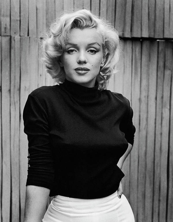 Timeincown Poster featuring the photograph Portrait Of Marilyn Monroe by Alfred Eisenstaedt