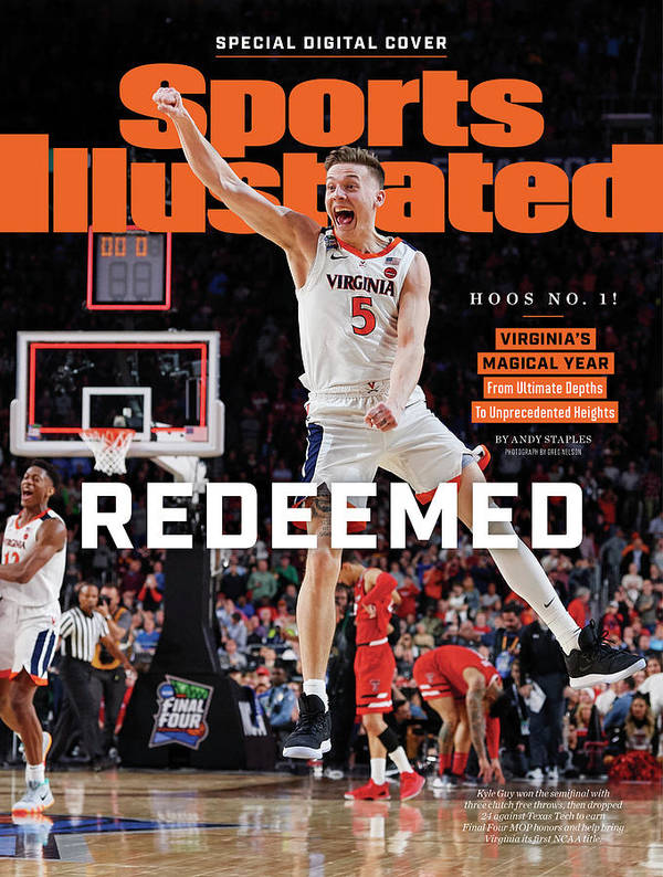 Championship Poster featuring the photograph Redeemed University Of Virginia, 2019 Ncaa Champions Sports Illustrated Cover by Sports Illustrated