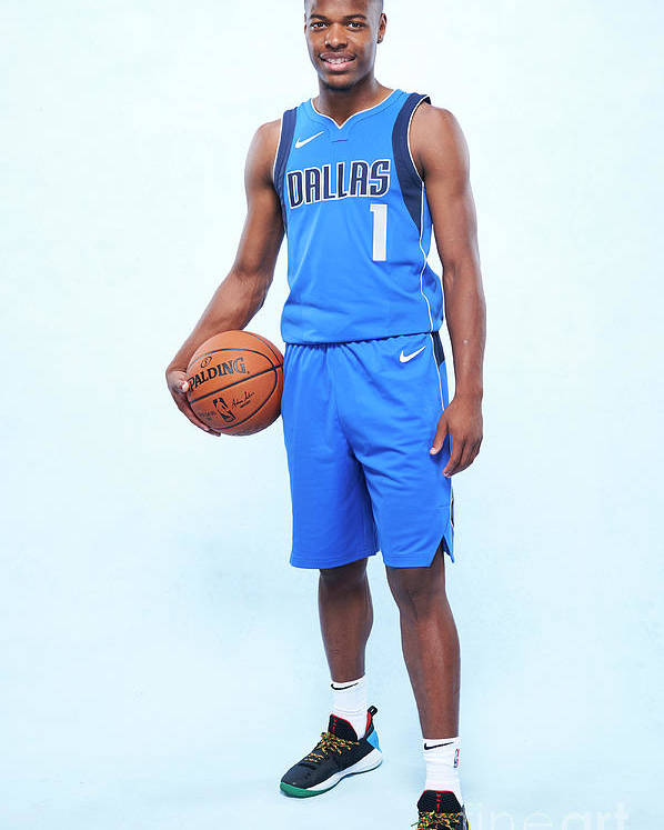 Nba Pro Basketball Poster featuring the photograph Rookie Photo Shoot 2017 by Jennifer Pottheiser