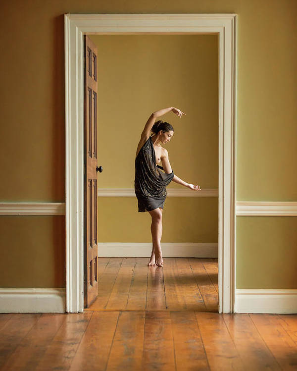 Ballet Poster featuring the photograph The Doorway by Ross Oscar