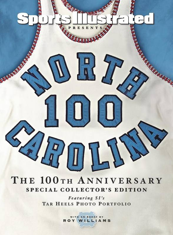 North Carolina Poster featuring the photograph University Of North Carolina Basketball Memorabilia Sports Illustrated Cover by Sports Illustrated