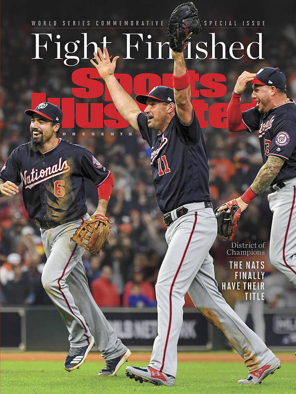 Championship Poster featuring the photograph Washington Nationals, 2019 World Series Champions Sports Illustrated Cover by Sports Illustrated