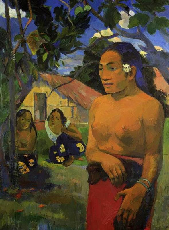 Where Poster featuring the painting Where Are You Going 1892 by Gauguin Paul