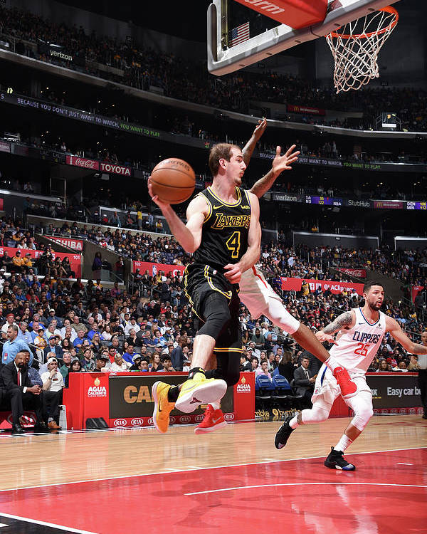 Sports Ball Poster featuring the photograph Alex Caruso by Adam Pantozzi