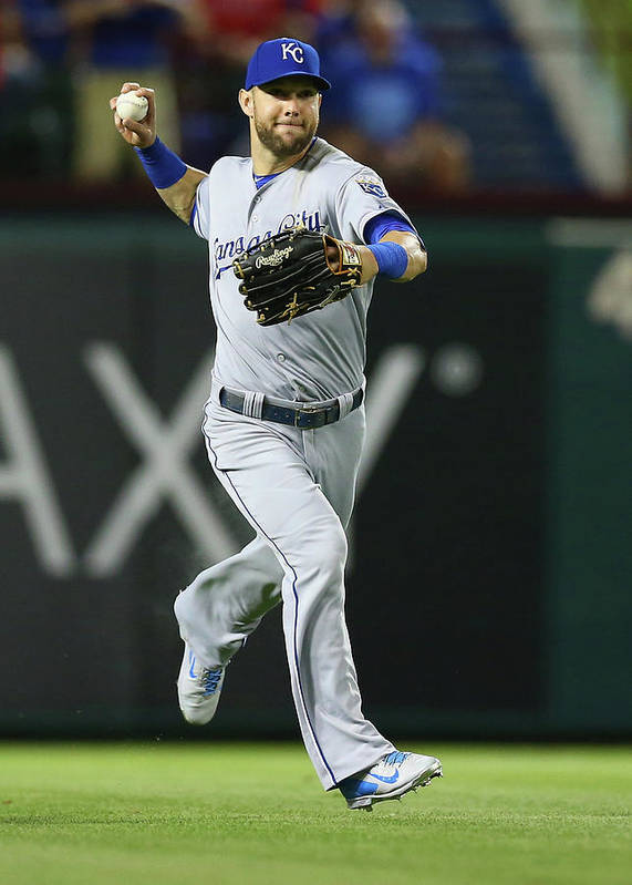 People Poster featuring the photograph Alex Gordon by Ronald Martinez